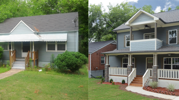 Before & After Exterior 1